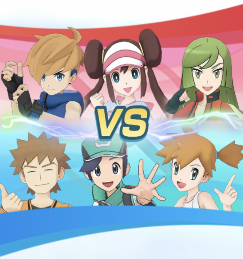 Pokemon Masters New Trailer Shows Off Trainers