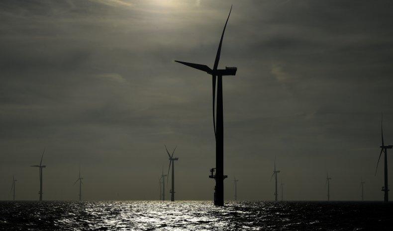 wind farm, north sea