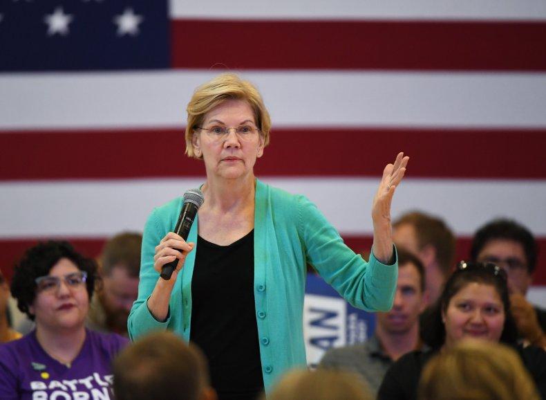 Elizabeth Warren Las Vegas
