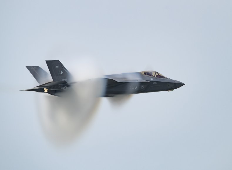us air force f35 jet