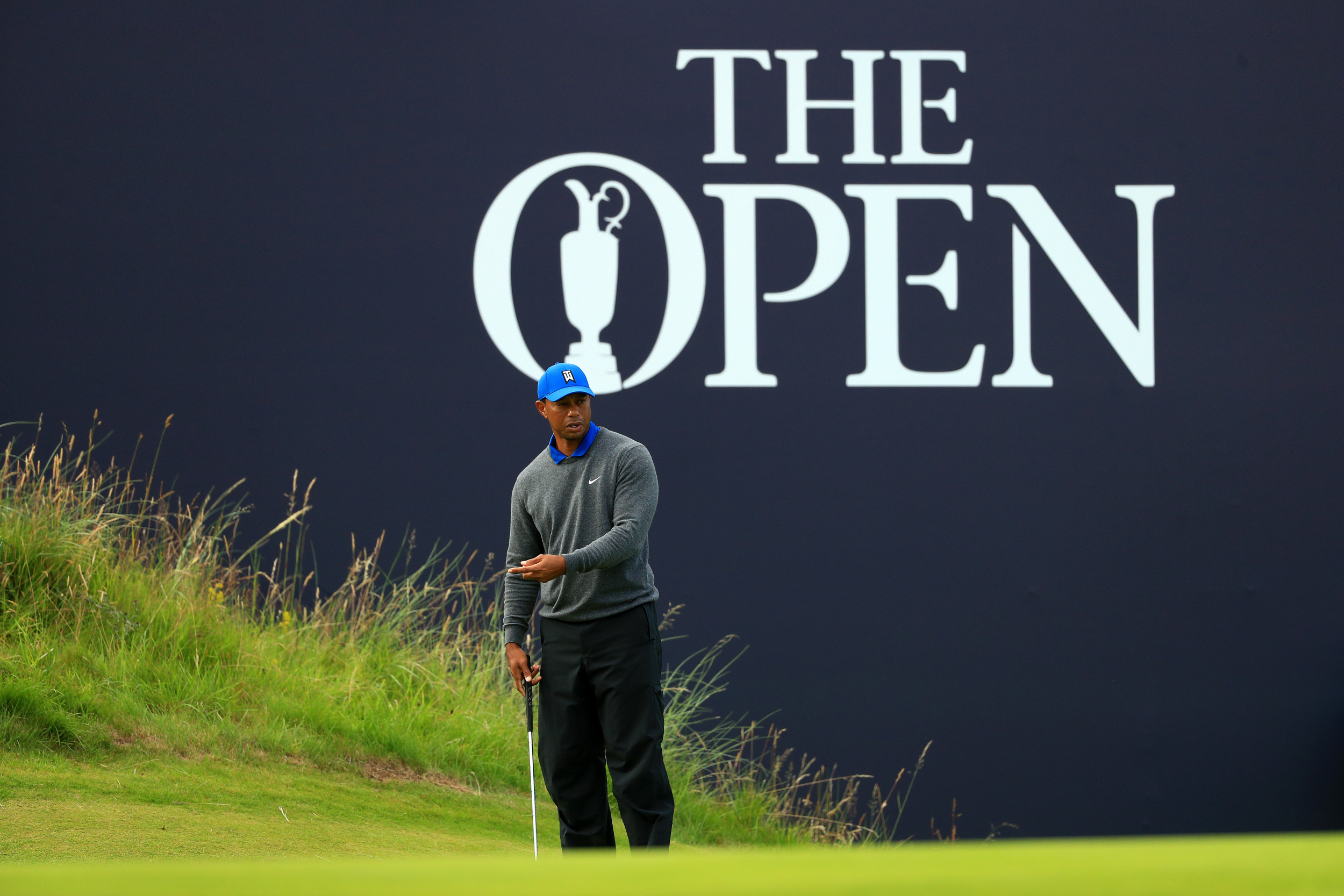 When Does Tiger Woods tee off on Friday? British Open second round TV channel, live stream, live leaderboard