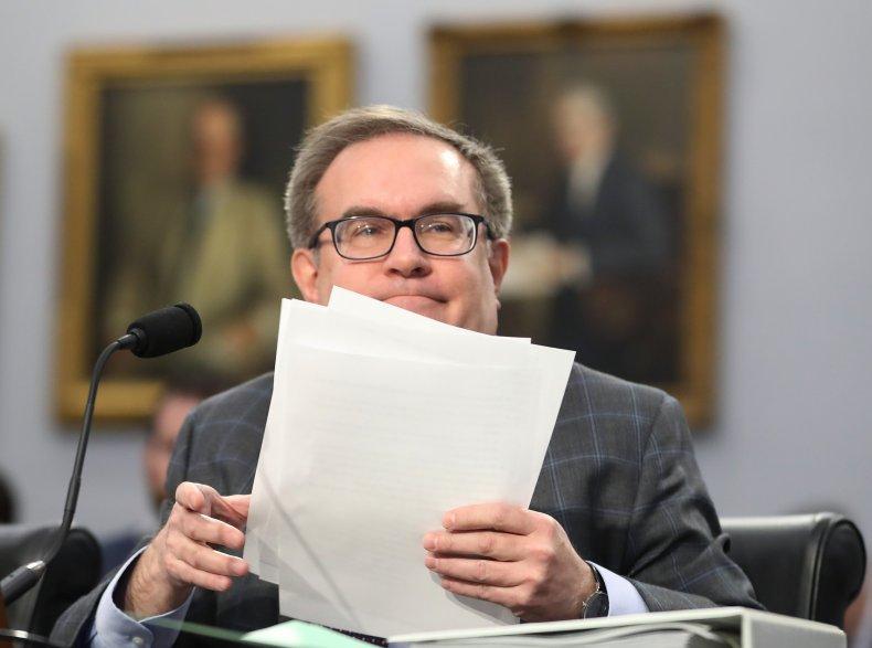 Andrew Wheeler, EPA administrator