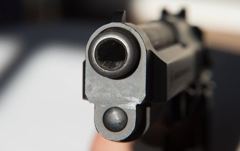 9mm pistol, fun, firearm, muzzle, stock