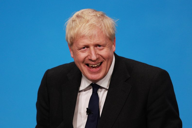 Boris Johnson quotes UK prime minister