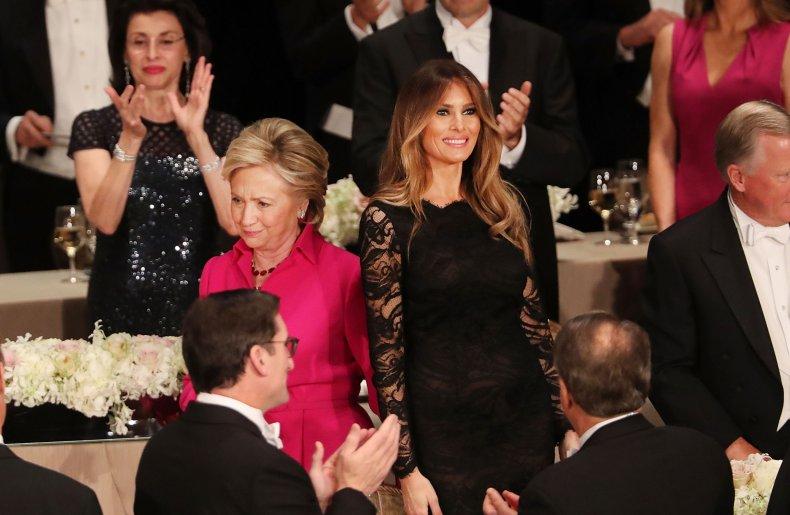 Melania Trump Popular Hillary Clinton