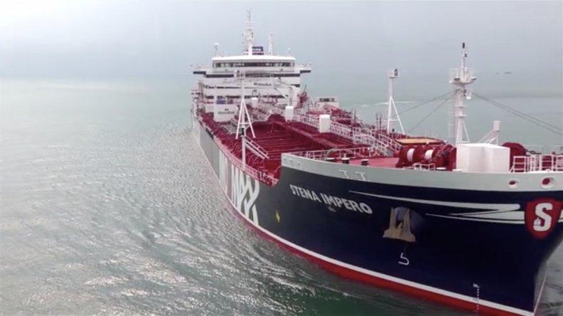 stena impero oil tanker iran