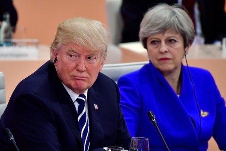 Theresa May Condemn Trump Racist