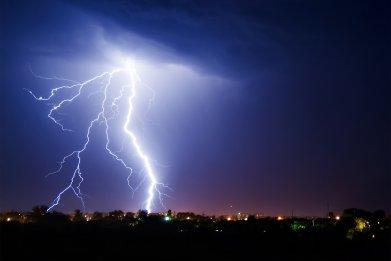 lightning, thunderstorm, thunder, weather, stock, getty
