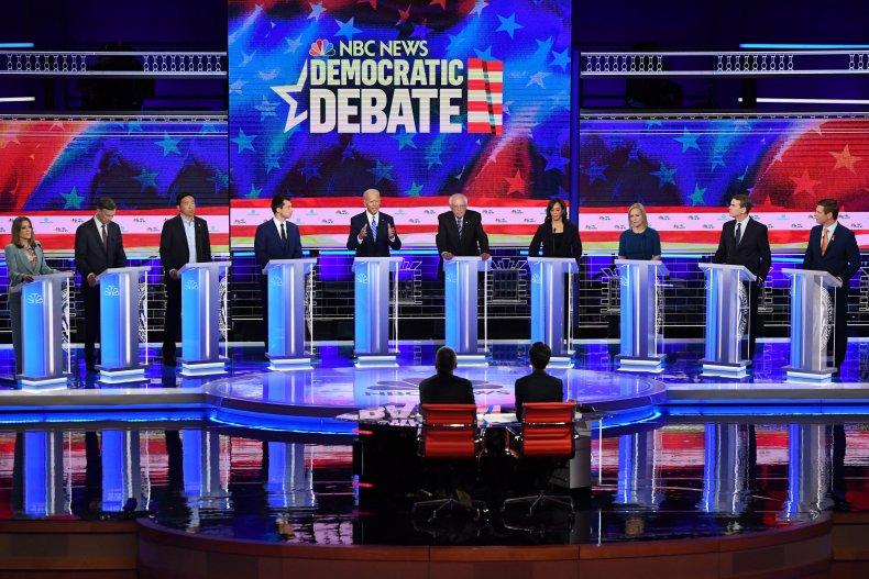 2020 election trump biden sanders warren