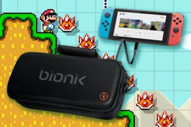 bionik nintendo switch power commuter bag