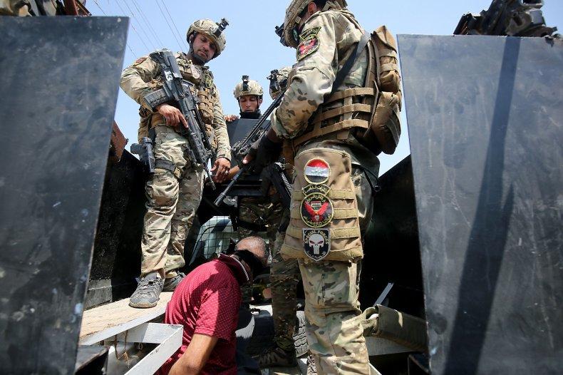 iraq military rapid response isis