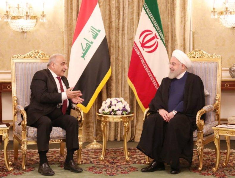 iraq iran abdul-mahdi rouhani tehran
