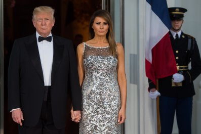 Melania Trump Second State Dinner