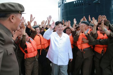 North Korea, submarine, Kim Jong Un, ICBM