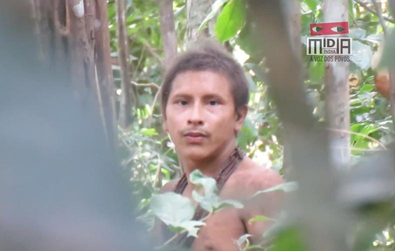 Indigenous man, Amazon
