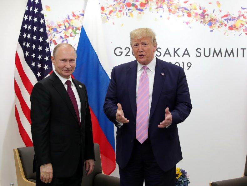 Yuval Harari, Donald Trump, Vladimir Putin, Russia