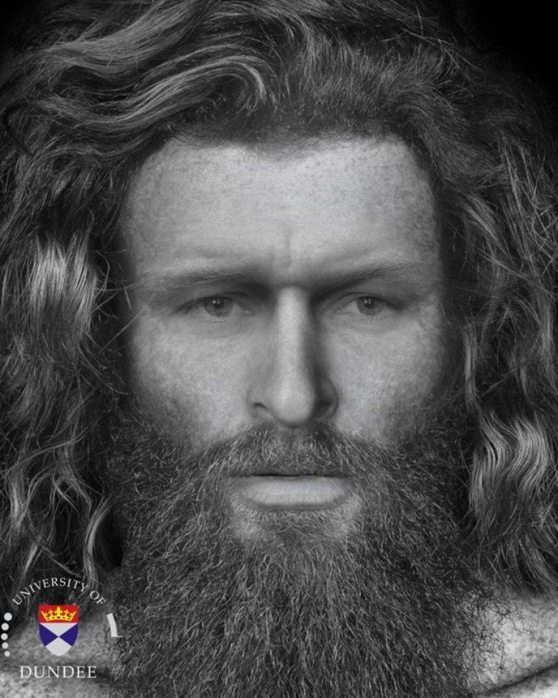 Pictish man, Death