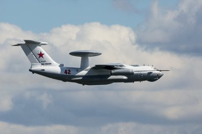 russia air force a50 plane