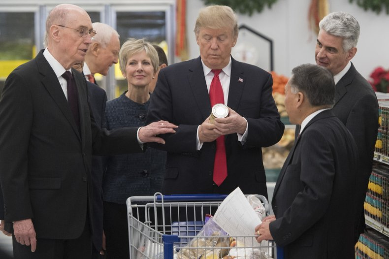 Trump Shopping Cart