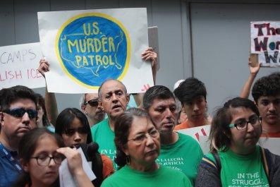 Border Patrol Protest