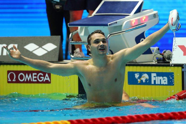 Kristof Milak, FINA World Championships