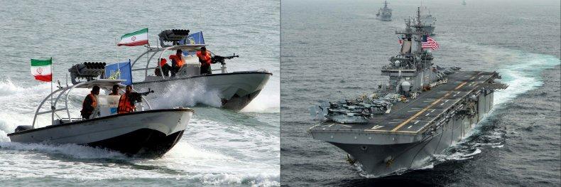 iran navy us navy gulf