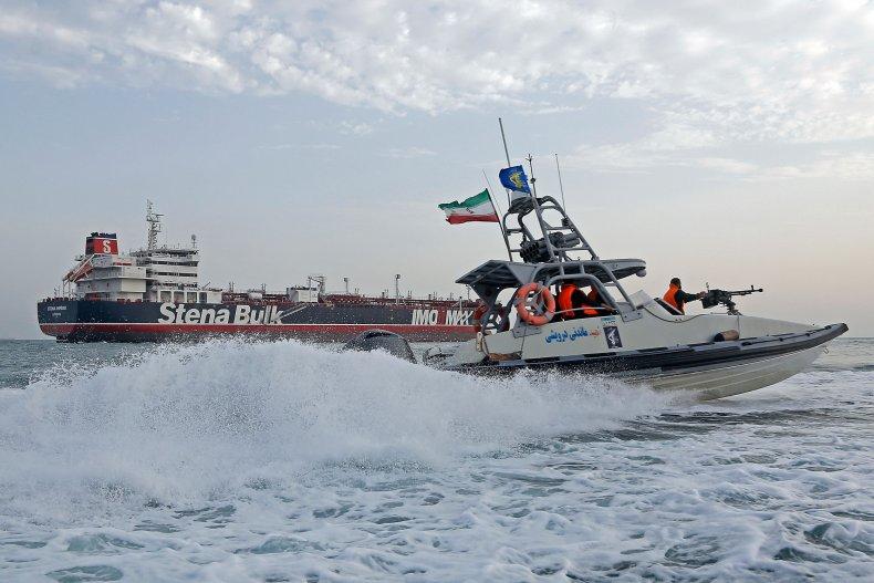 iran navy uk oil tanker