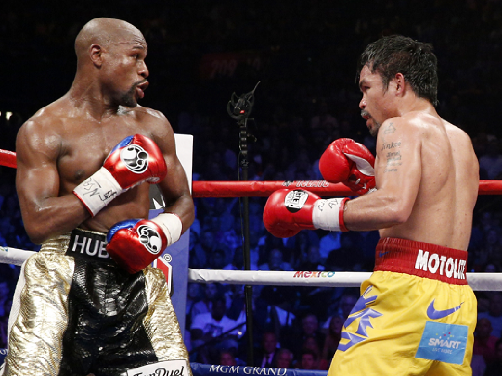 Floyd Mayweather Vs Manny Pacquiao Boxers Planning Rematch