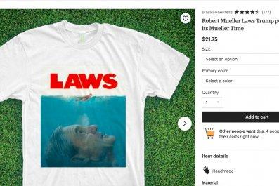 robert mueller jaws shark week shirt