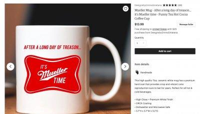 robert mueller its mueller time mug
