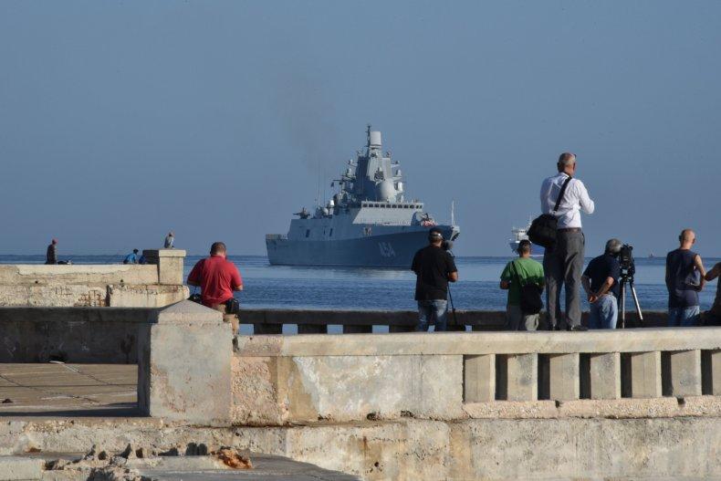 russia navy cuba havana