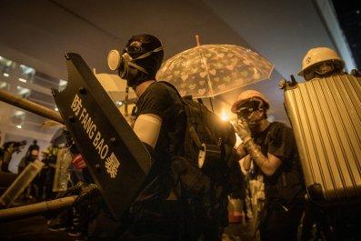 Hong Kong, China, protests, police, democracy