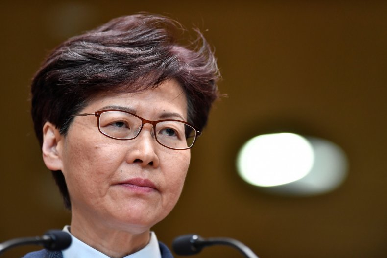 Hong Kong, China, Carrie Lam, protests, government