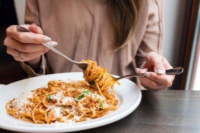 pasta, spaghetti, food, diet, stock, getty,