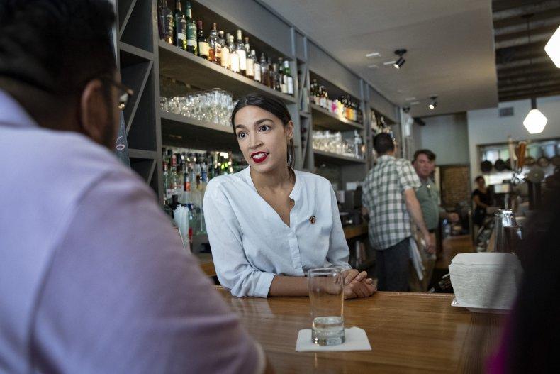 Alexandria Ocasio-Cortez Fox News tipped minimum wage