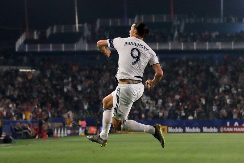 Zlatan Ibrahimovic, LA Galaxy