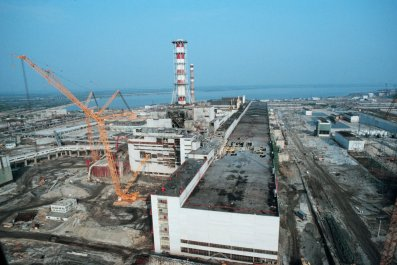 Chernobyl nuclear disaster 1986