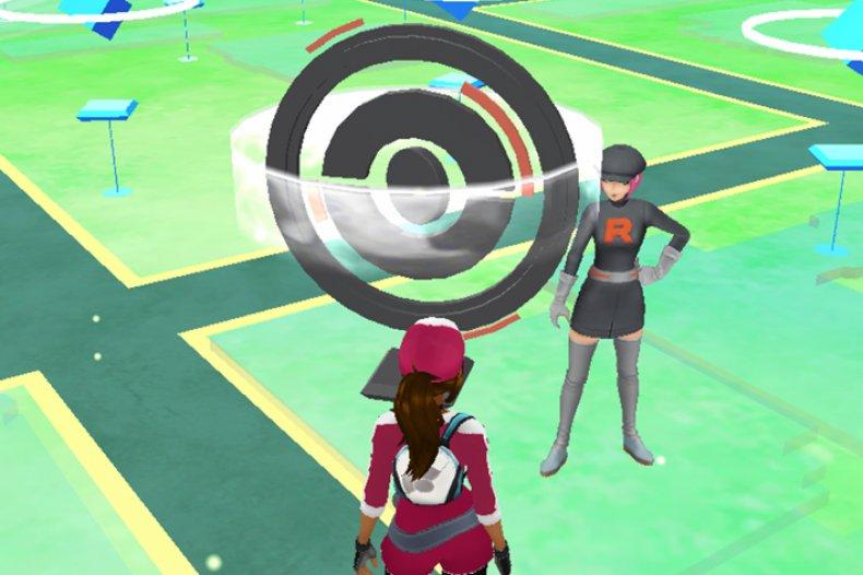 pokemon go team rocket pokestop