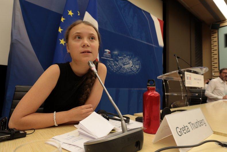 Greta Thunberg Paris