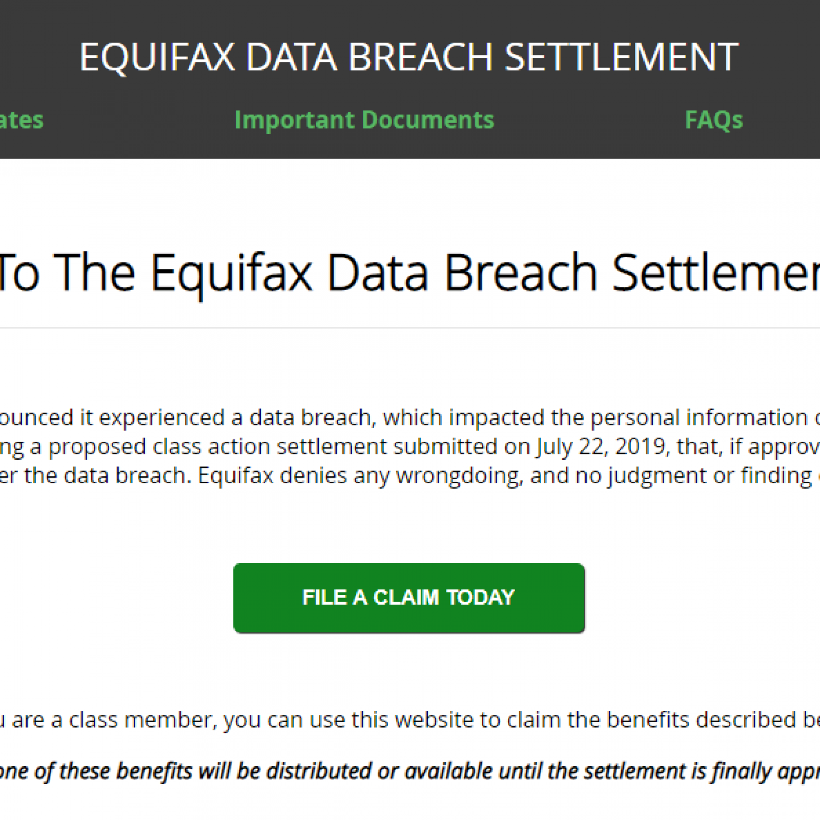 Equifax Settlement: Here's How You Can Claim $250, And