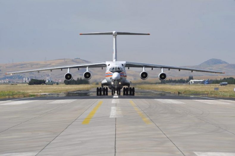 russia plane s400 delivery turkey
