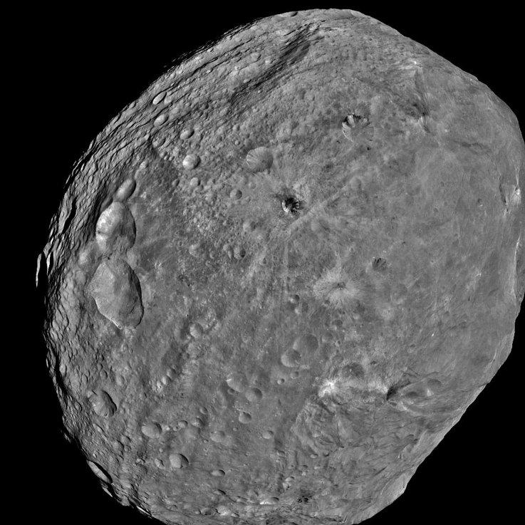 Vesta Giant Asteroid