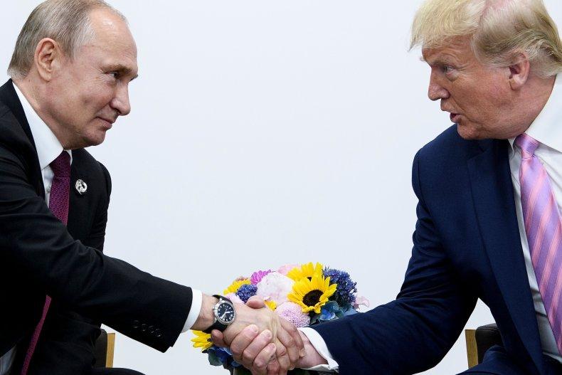 Putin Trump 2020 election interference
