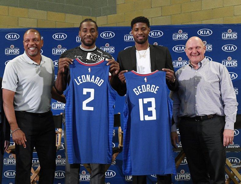Paul George, Kawhi Leonard, Los Angeles Clippers
