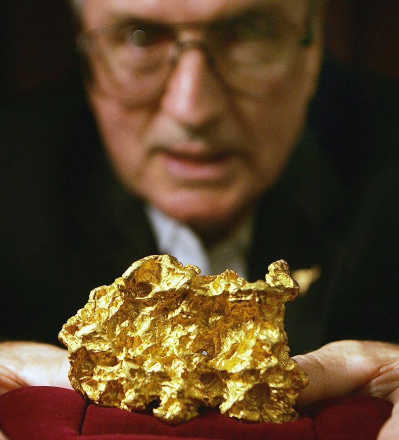 Gold nugget from Australia