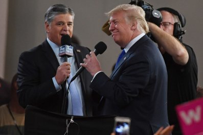 donald trump sean hannity fox news channel