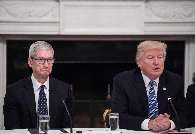 Trump Apple Tariff iPhone