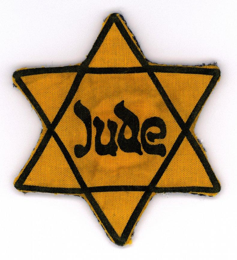 jude star of david badge