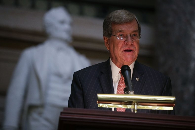 Association Of Former Members Of Congress Holds Memorial Service For Those Who Have Passed Away In Last 18 Months