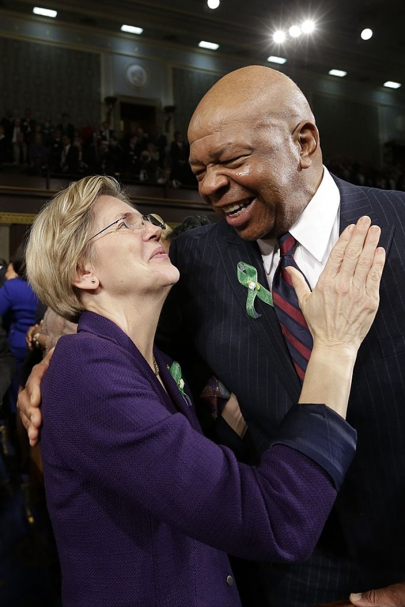 Elizabeth Warren and Elijah Cummings